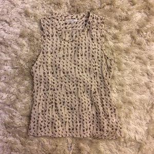 Sleeveless Gap blouse
